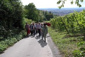 Pilgergruppe Aufstieg Kalkgasse - nahe-.jpg x