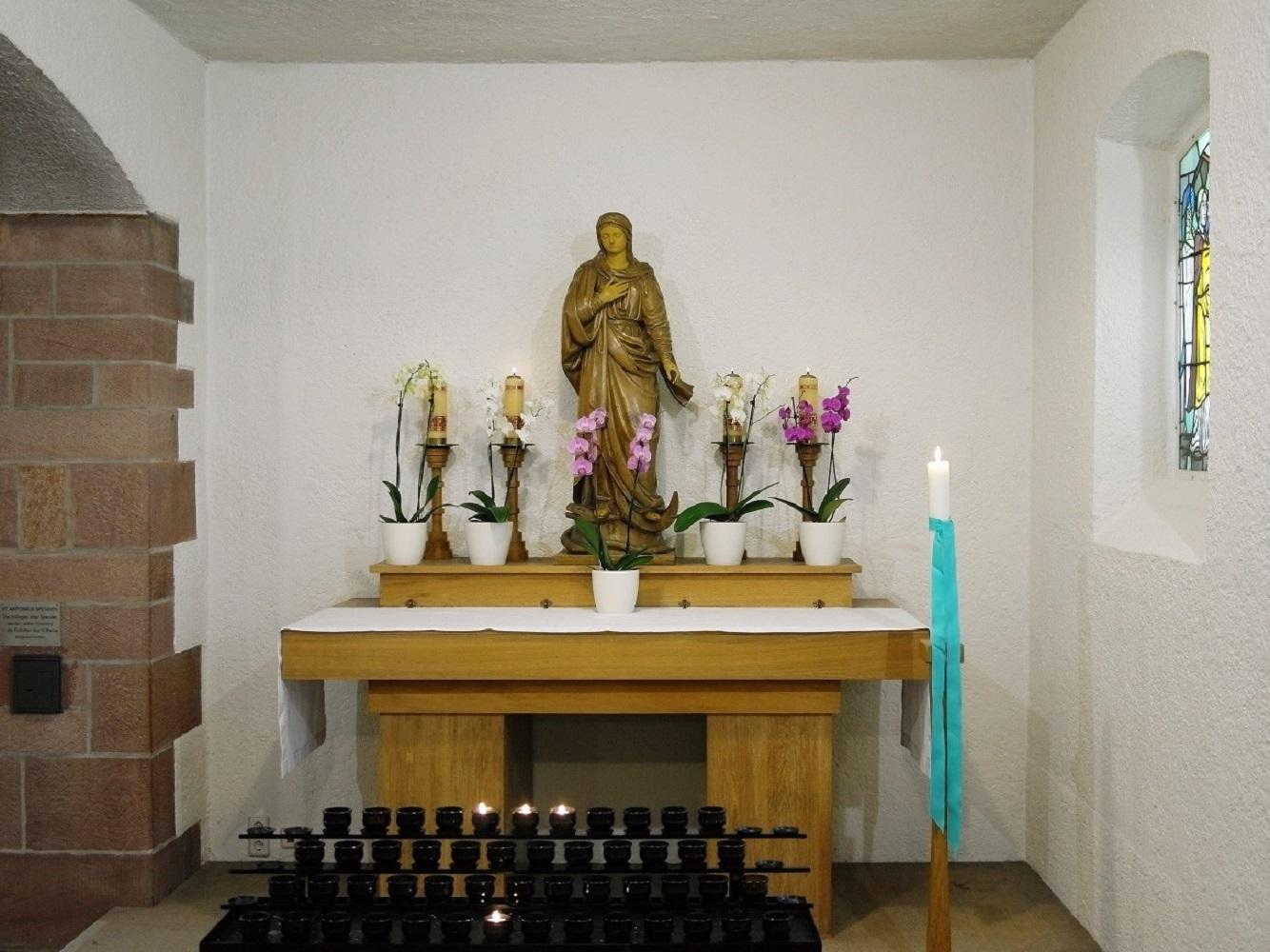 Marien-Altar 12-2016