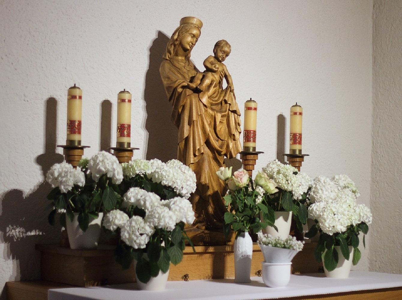 (2) Marien-Altar Ostern 2018